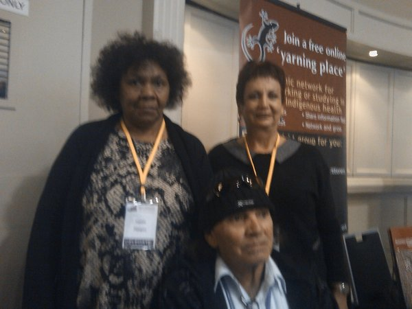 Joanne, Jenny and Davey from Ceduna Koonibba Aboriginal Health Service