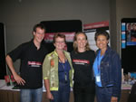 Olivier Debuyst, Lyn Kay, Ineke Krom and Julie Weekes