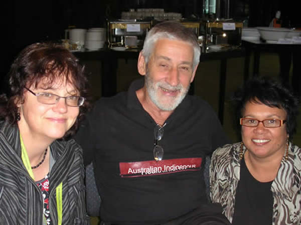 Kerry Stopher, Neil Thomson and Rhonda Murphy at Western Australian Aboriginal Health Promotion Conference