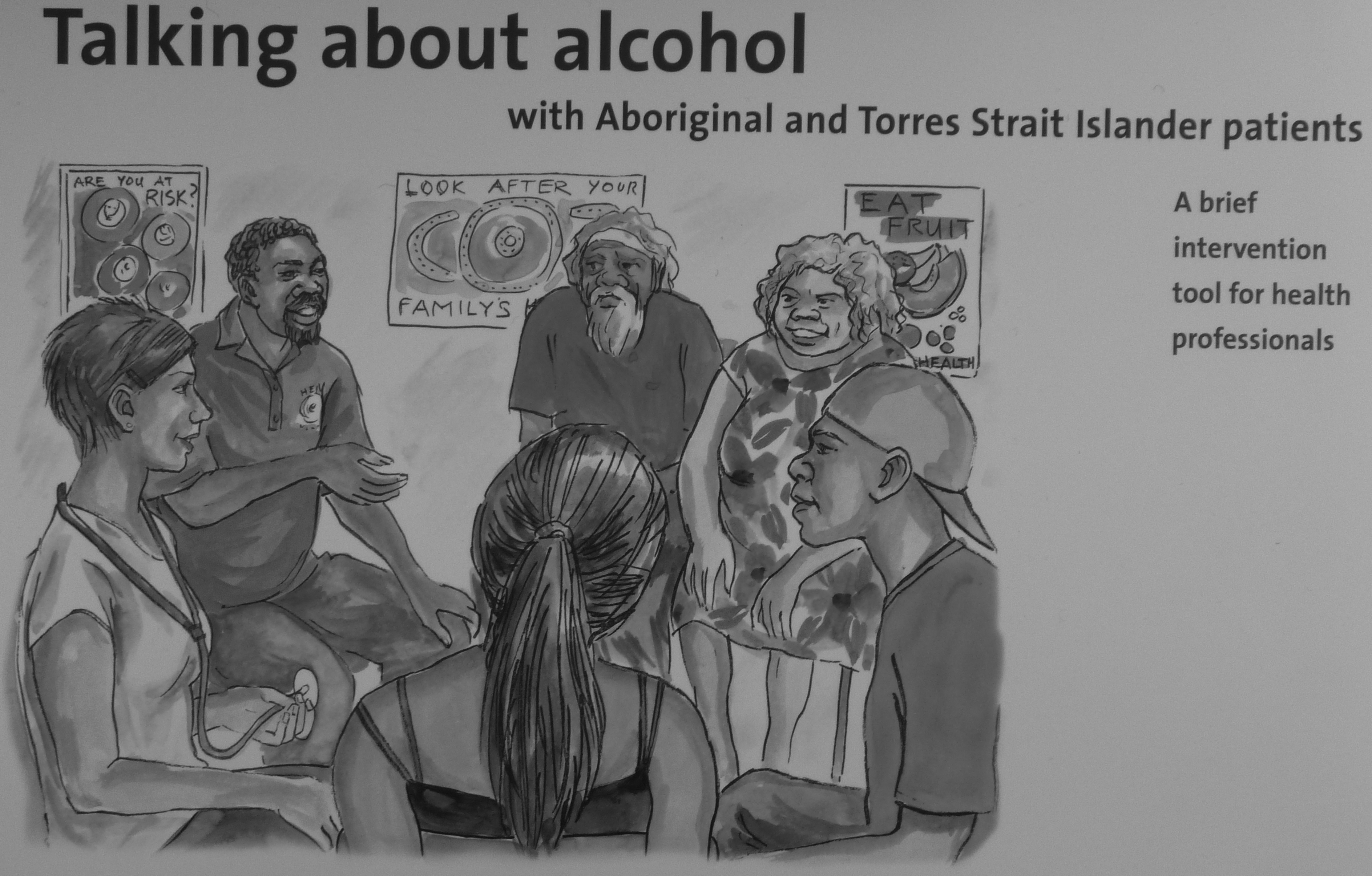 Talking about alcohol with Aboriginal and Torres Strait Islander patients