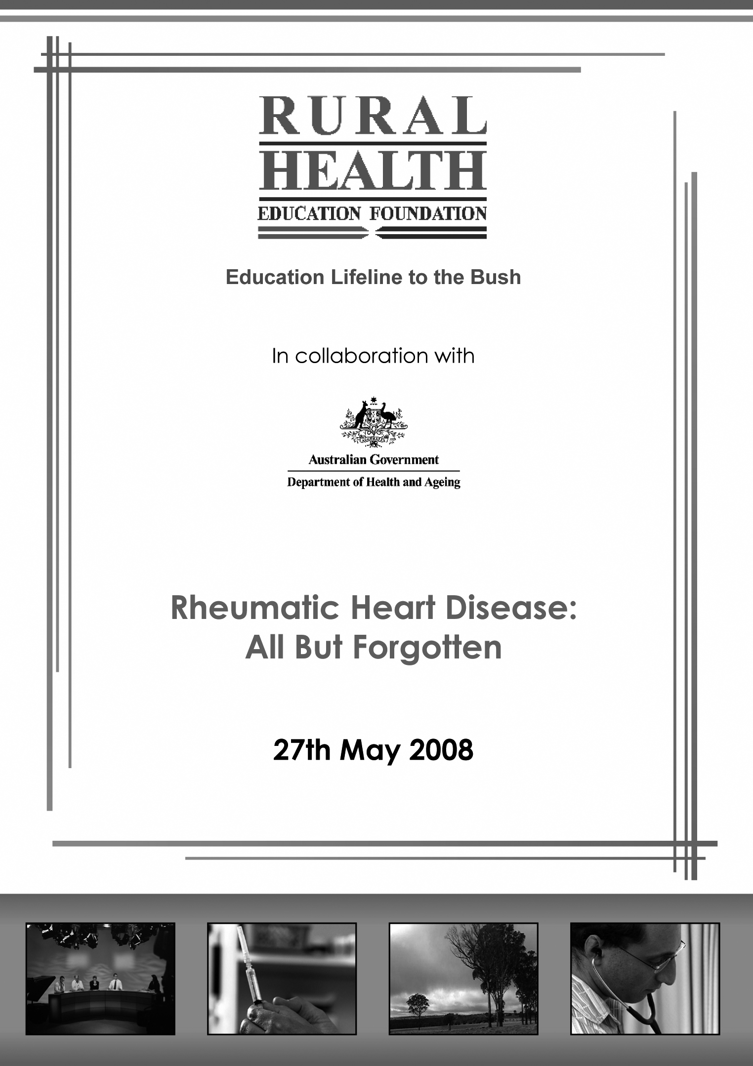 Rheumatic heart disease: all but forgotten