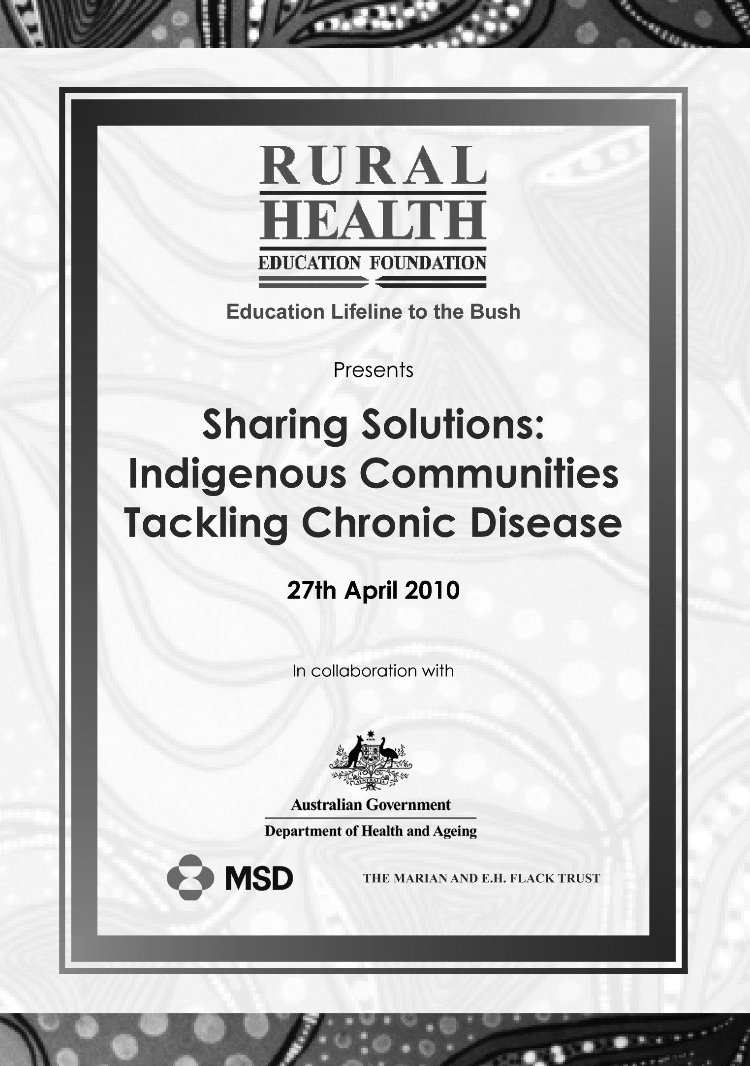 Sharing solutions: Indigenous communities tackling chronic disease