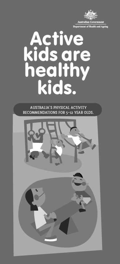 Australia's physical activity recommendations for 5-12 year olds