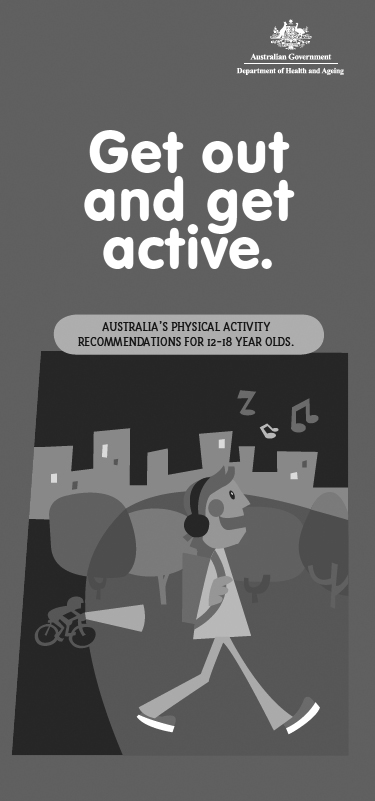 Australia's physical activity recommendations for 12-18 year olds
