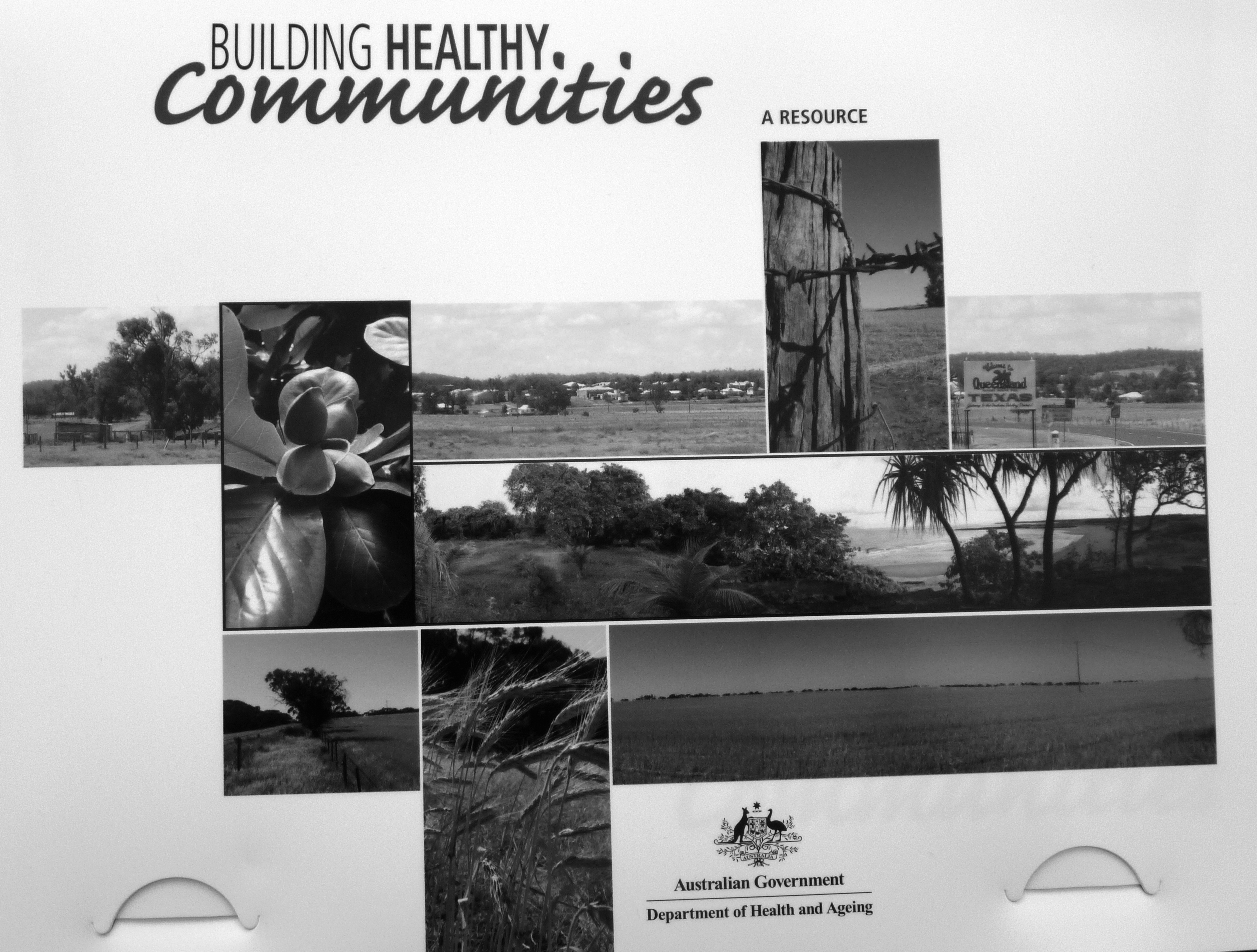 Building healthy communities - a guide for community projects