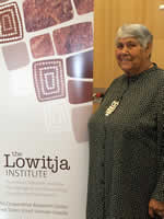 Lowitja with Banner Congress 2010