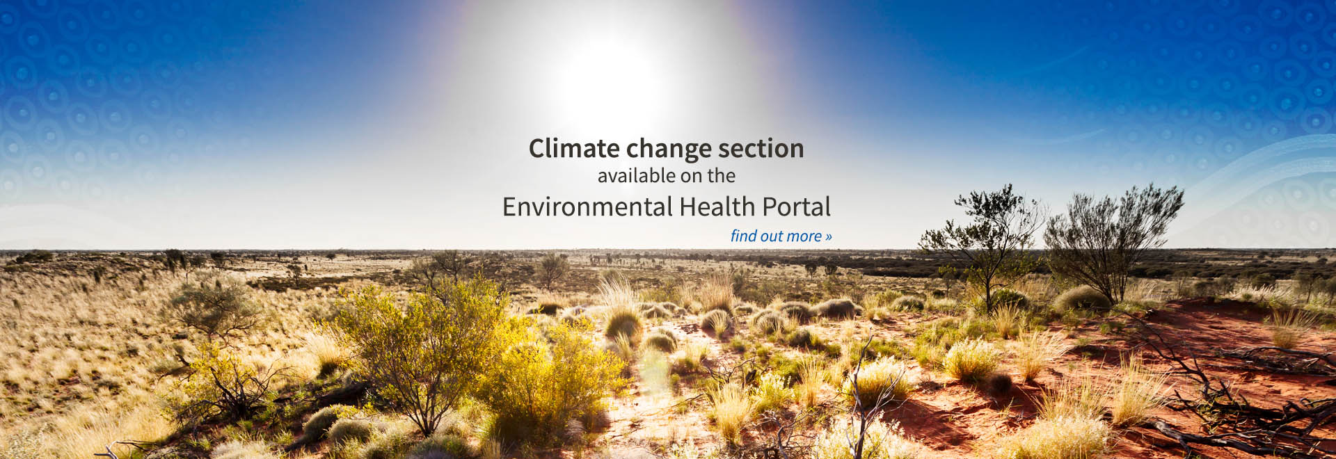 Climate change section