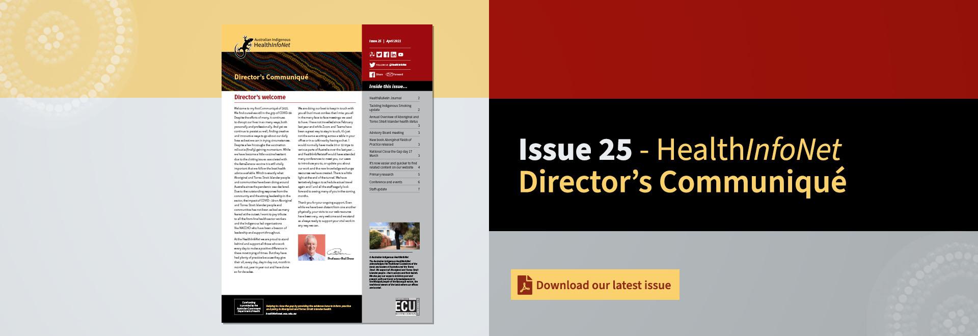 communique issue 25
